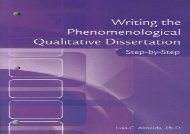 [+][PDF] TOP TREND Writing the Phenomenological Qualitative Dissertation Step-By-Step [PDF]