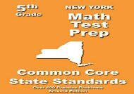 [+]The best book of the month New York 5th Grade Math Test Prep: Common Core Learning Standards  [NEWS]