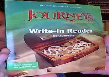 [+][PDF] TOP TREND Journeys: Write-in Reader Volume 1 Grade 1  [DOWNLOAD]