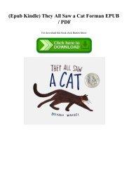 (Epub Kindle) They All Saw a Cat Forman EPUB  PDF