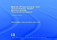 [+][PDF] TOP TREND Best Practices for Teaching with Emerging Technologies (Best Practices in Online Teaching and Learning)  [READ]
