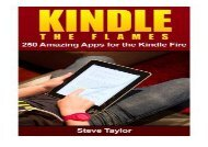 [+]The best book of the month Kindle The Flames: 250 Amazing Apps for the Kindle Fire HD  [FULL]