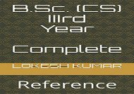 [+][PDF] TOP TREND B.Sc. (CS) iiird Year: Complete Reference  [NEWS]