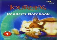 [+]The best book of the month Journeys Reader s Notebook, Grade 1  [DOWNLOAD]