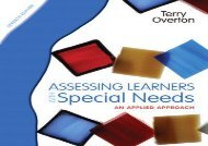 [+]The best book of the month Assessing Learners with Special Needs: An Applied Approach  [FULL]