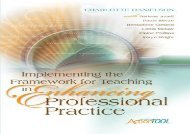 [+][PDF] TOP TREND Implementing the Framework for Teaching in Enhancing Professional Practice: An ASCD Action Tool (Professional Development) [PDF]