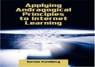 [+]The best book of the month Applying Andragogical Principles to Internet Learning  [FREE]