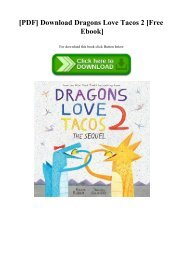 [PDF] Download Dragons Love Tacos 2 [Free Ebook]