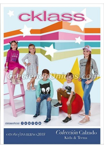 #649 Catálogo Cklass Kids Otoño Invierno 2018 en USA