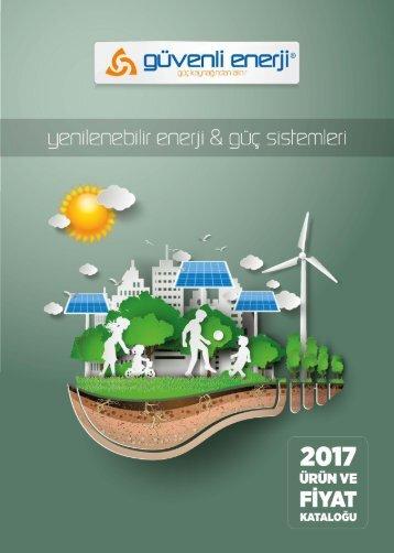 Güvenli Enerji  fiyat katalogi 2017