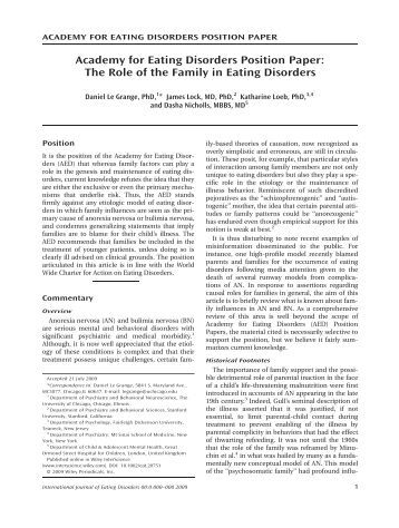 body image and eating disorders essay