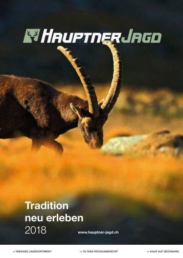 Hauptner Jagd Katalog 2018
