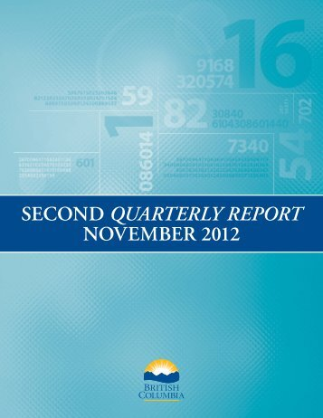 Second Quarterly Report: 2012/13 - Ministry of Finance