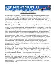 Position Paper Guidelines.pdf - KnightMUN