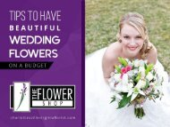 Wedding Flowers on a Budget from Charlottesville Florist