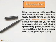 The Best Tips Ever on How to Write Reflective Essay