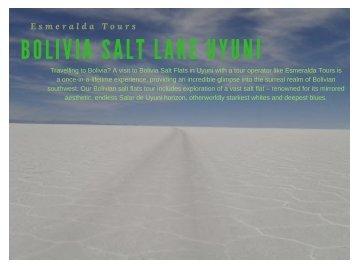 Uyuni Tours Bolivia