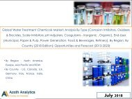 Sample-Global Water Treatment Chemicals Market