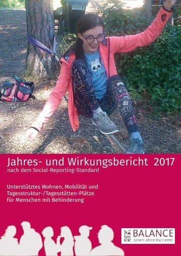 Jahres- und Wirkungsbericht 2017