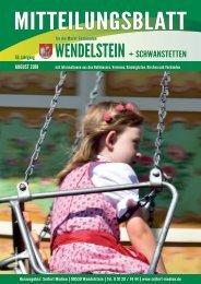 Wendelstein +  Schwanstetten - August 2018