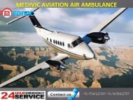 Medivic Aviation Air Ambulance Service in Dimapur  in low budget