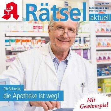 "Leseprobe ""Rätsel-aktuell"" August 2018"