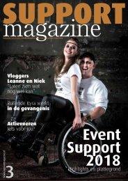 Support Magazine 3 - juni 2018
