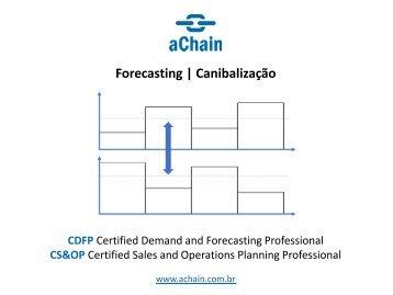 Cálculo do Forecast | Certificação CDFP Certified Demand and Forecasting Professional!. Inscrições: www.achain.com.br