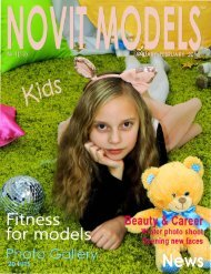 MAGAZINE NOVIT MODELS KIDS™ №1/2018