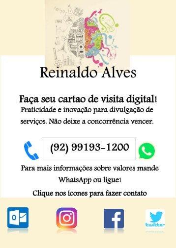 Cartão visita Digital