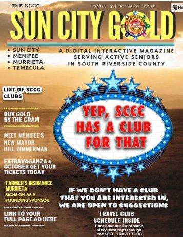 sun city gold AUGUST