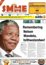 SMME NEWS - JULY 2018 ISSUE