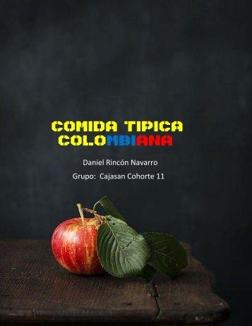 PLATOS TIPICOS DE COLOMBIA