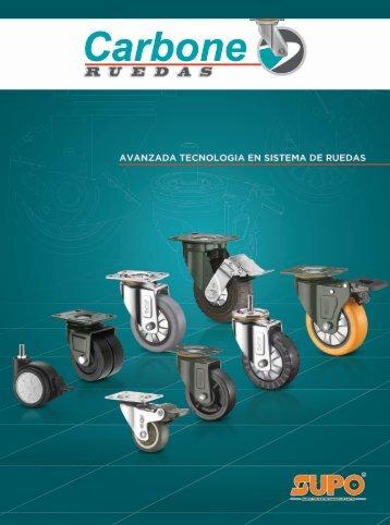 Catálogo de Sistema de Ruedas para Muebles