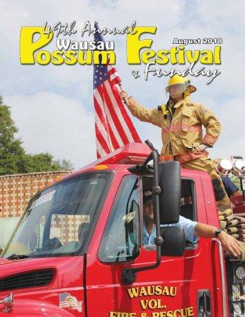 2018 Wausau Possum Festival Program
