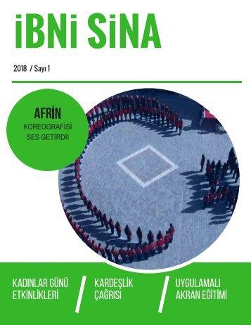 ibni sina dergisi 2018 sayı 1
