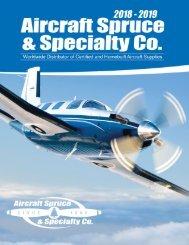 2018-2019 Aircraft Spruce Catalog