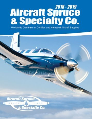 2018-2019 Aircraft Spruce Catalog