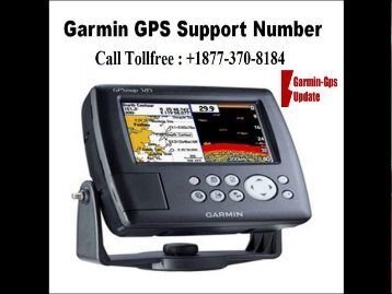 Call Garmin Nuvi Support Number +1877-370-8184