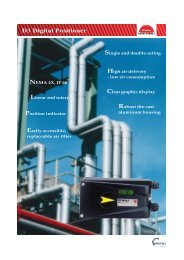 PMV D3 Digital Positioner - Valve & Process Solutions