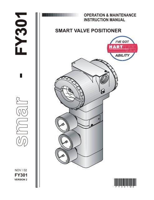 SMART VALVE POSITIONER - TechnoMad