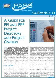 A Guide for PFI and PPP Project Directors - BiP Solutions Ltd.