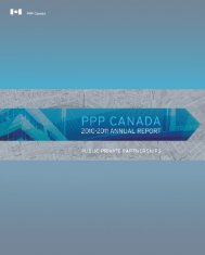 2010-2011 Annual Report - PPP Canada