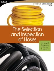 The Selection and Inspection of Hoses - Purdue Pesticide Programs ...