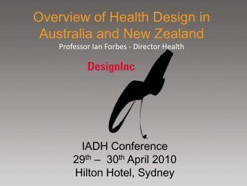 DesignInc - the International Academy of Design and Health