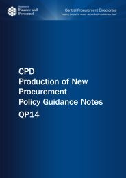 qp14 - Department of Finance and Personnel