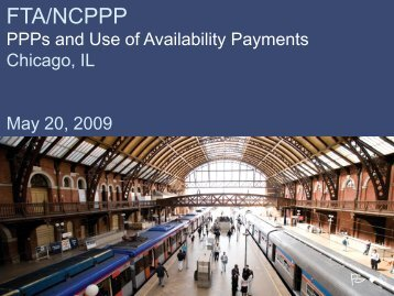 FTA/NCPPP - The National Council for Public-Private Partnerships