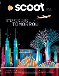 May 2018 Issue - Scoot In-Flight Magazine