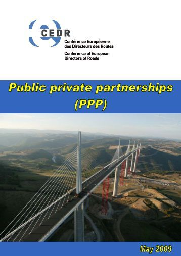 National experiences with PPPs - CEDR