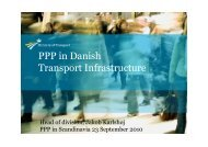 PPP in Danish Transport Infrastructure - Accura